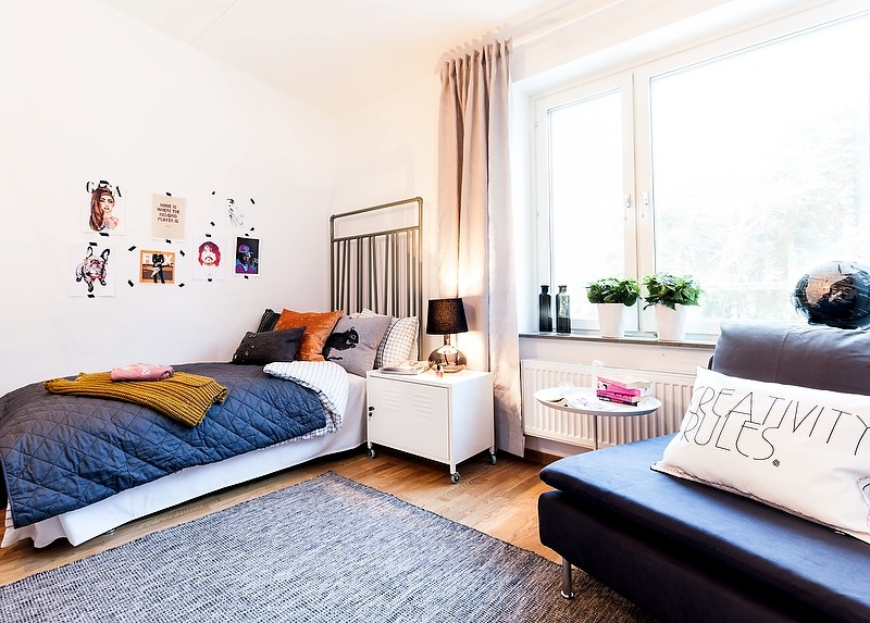 Apartment directed by the agency MG2
