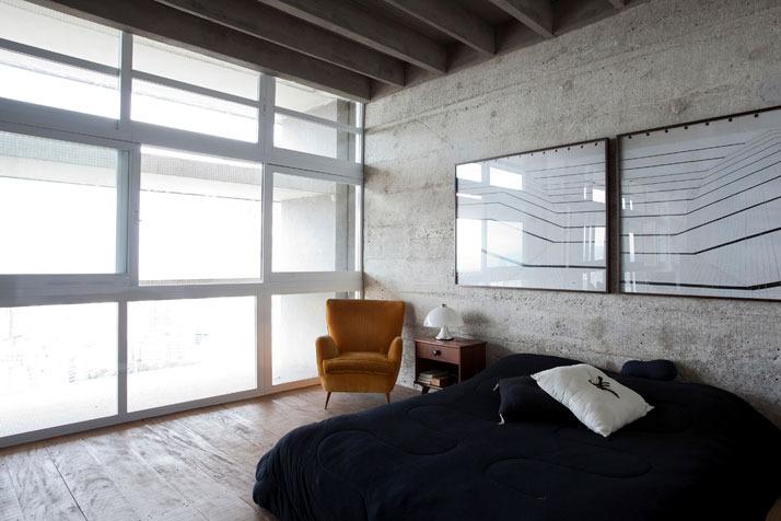loft raw concrete