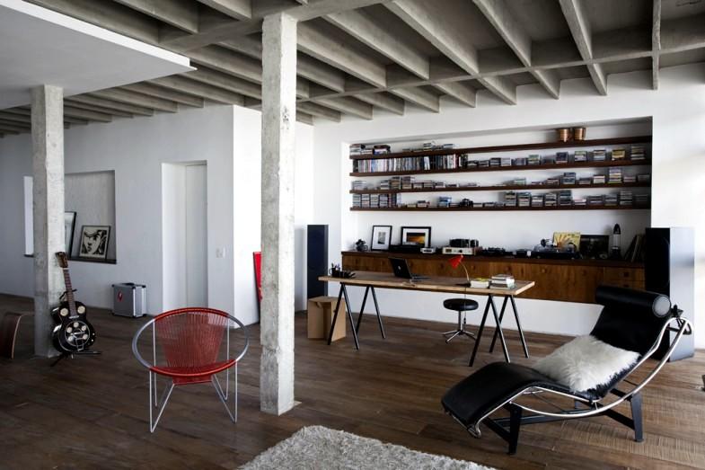 Apartment rough concrete