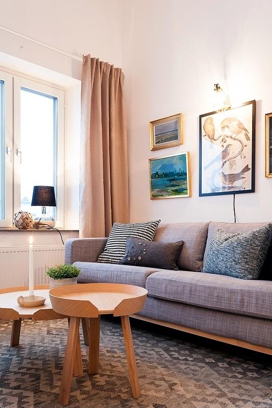 deco Scandinavian small apartment