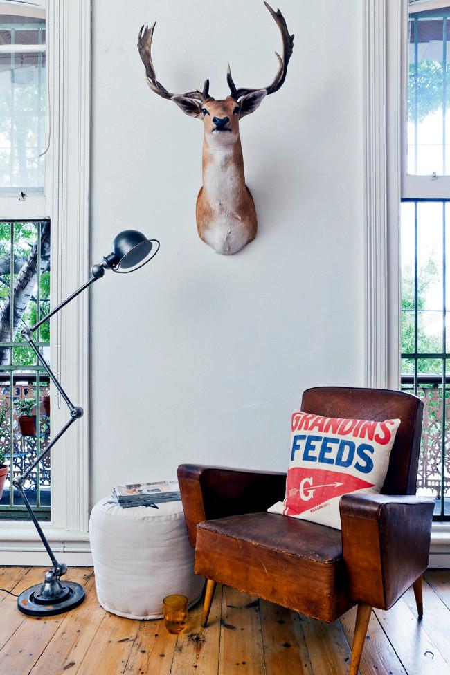 decorative vintage apartment
