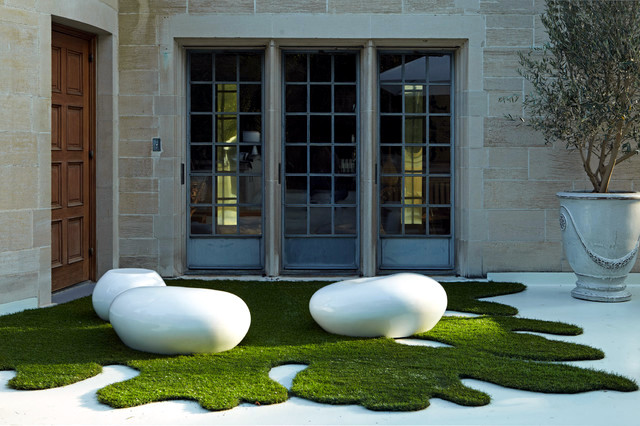 Ordinaire The Landscape In The Garden Can Be Easily Converted From An Ordinary Space  Into A Beautiful Artistic Environment. Creative Shapes And Designs Are Not  Only ...