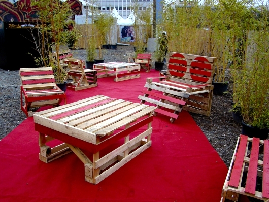Assemble Furniture From Wooden Pallets For A Sustainable