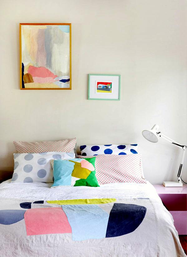 Australian house full of colors