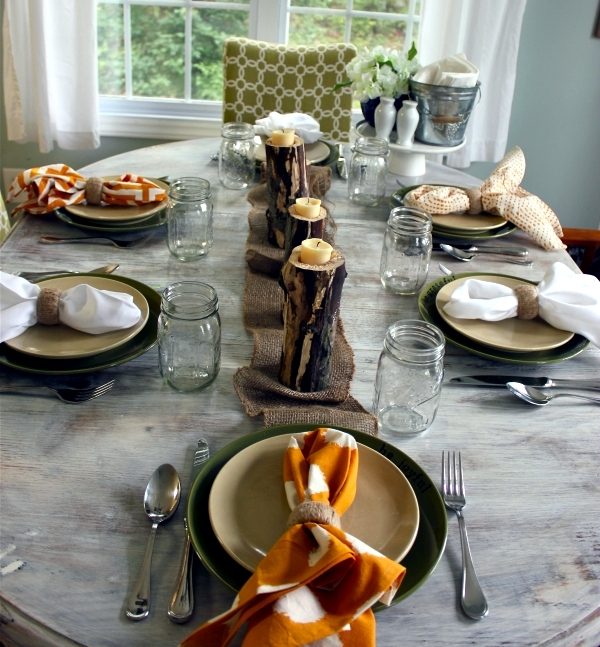 Autumn decorate the table - 30 Fall inspiration and ideas