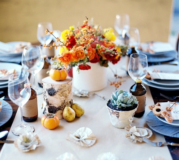 Autumn Decoration With Flowers 35 Beautiful Ideas For Making Your Own Interior Design