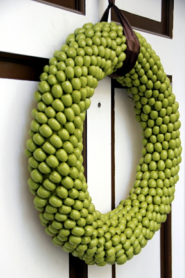 Autumn wreath do it yourself - Fast Craft Ideas for Autumn decoration