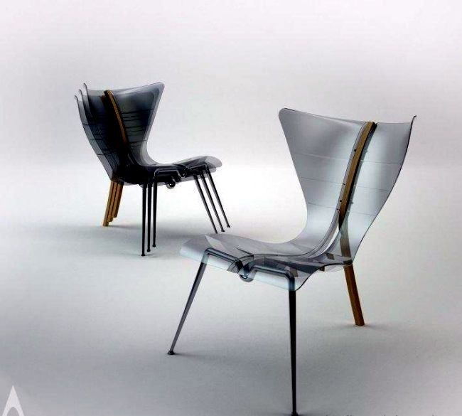 Award Winning Chair Design Inspired By The Manta Rays
