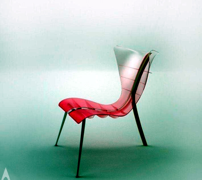 Award-winning chair design inspired by the Manta Rays
