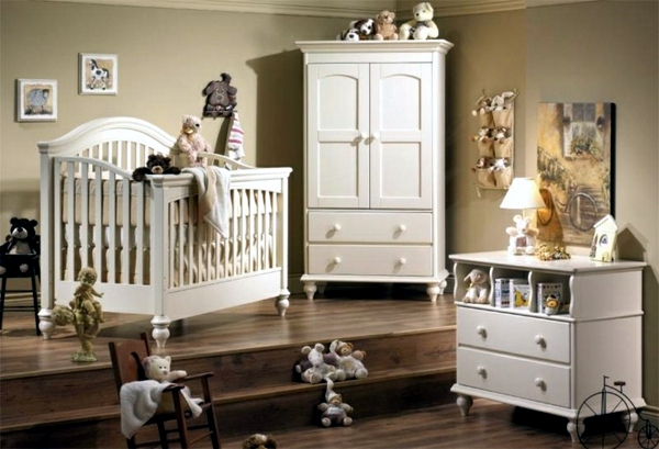 White Furniture In The Baby S Nursery Have Many Advantages First You Need Not Wait For Of Is Clear They Can Be Used Later Other