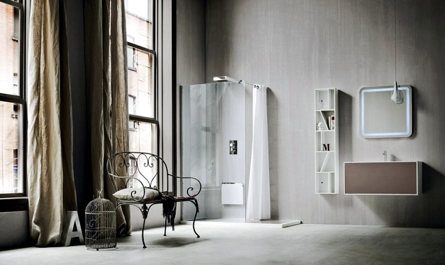 AuBergewohnlich The Design Of The Bathroom Rexa Design Is Characterized By  Modern Simplicity And Clear Geometric