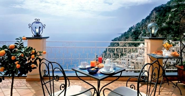 Balcony And Terrace Set In A Mediterranean Style Ideas
