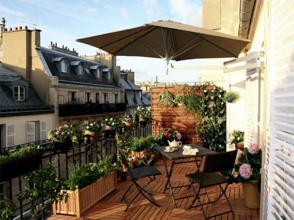 Balcony and terrace set in a Mediterranean style - Ideas and Tips