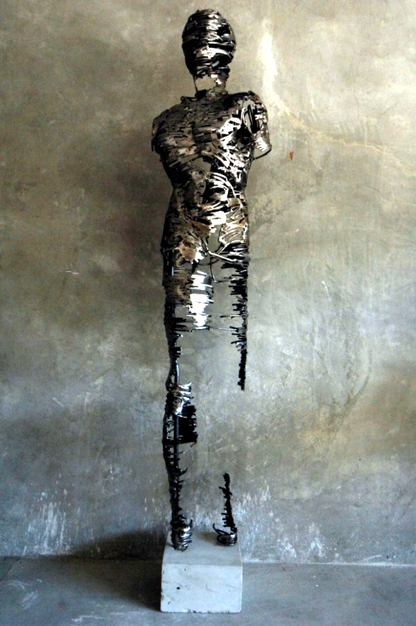 Ballerinas Unique Metal Sculptures By Regardt Van Der