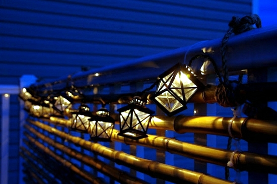 Bamboo blinds Balcony - design ideas for Feng Shui Style