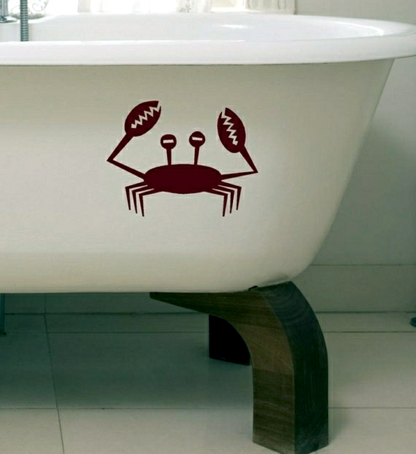 Bathroom decorating ideas to make yourself look at the Maritim