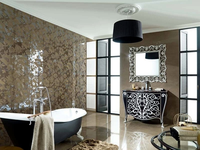 Bathroom furniture from Gamadecor - With modern and classic design