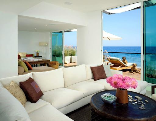 Beach house in Malibu