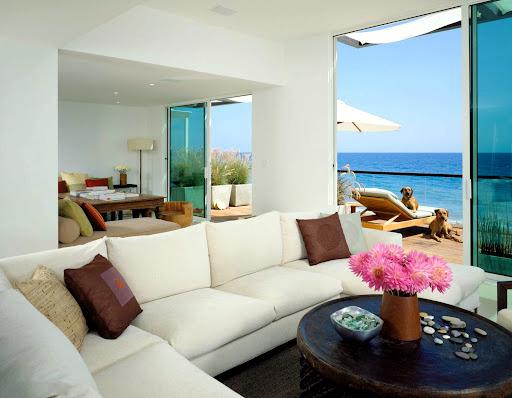 Beach house in Malibu