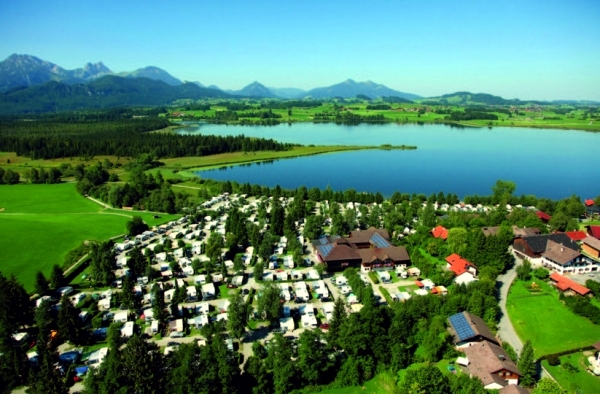 Best campsites in Germany - the lake and the mountains