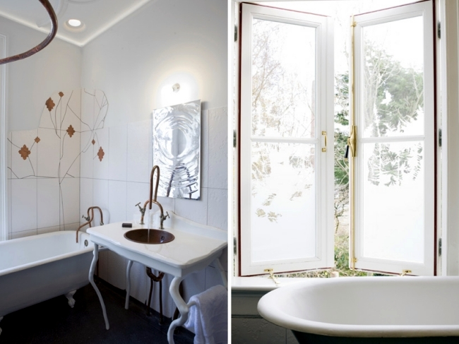 Bizarre Bath Design - room design with nature-inspired shapes