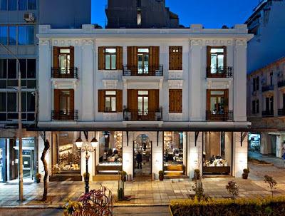 Blé Food Hall, Greece 1 +1 = 1, London / Milan