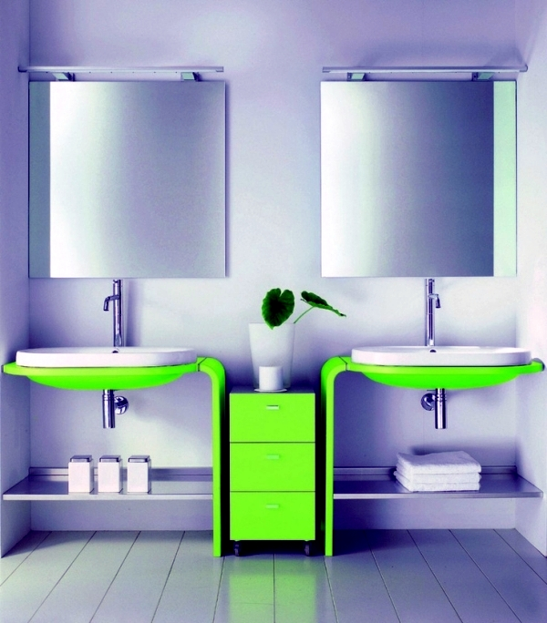 Bold Colors In The Bathroom Interior Design Ideas For