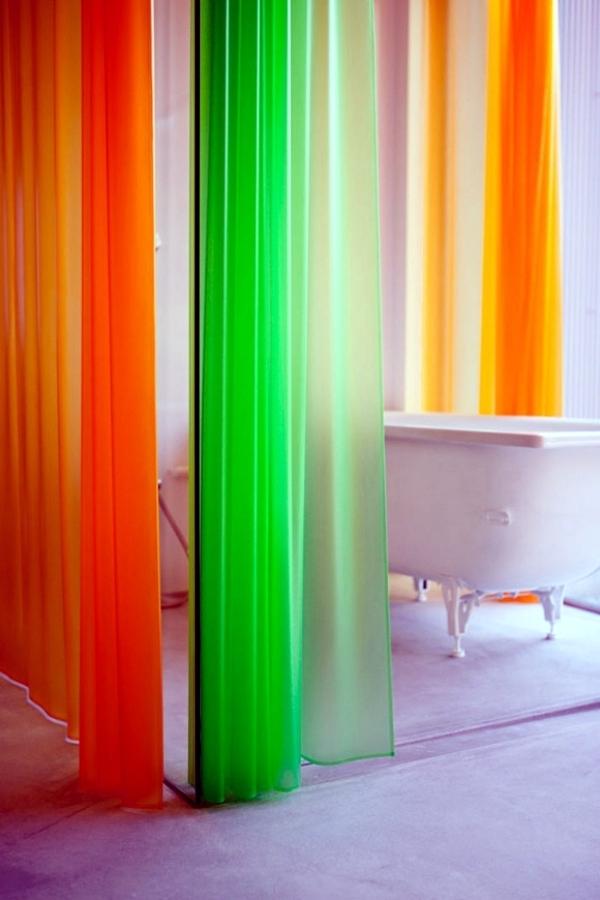 Interior Design Furniture Bold Colors ~ Bold colors in the bathroom interior design ideas for