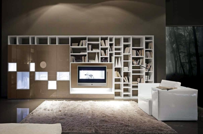 bookshelf systems from presotto italia a highlight in. Black Bedroom Furniture Sets. Home Design Ideas