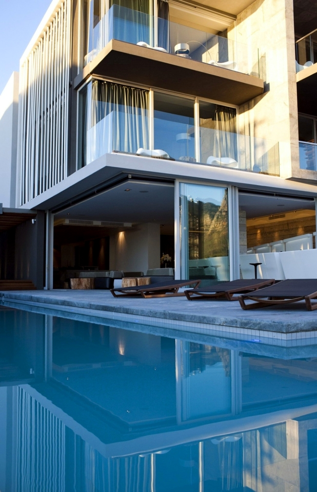 Boutique hotel in cape town is modern architecture for Modern boutique hotel