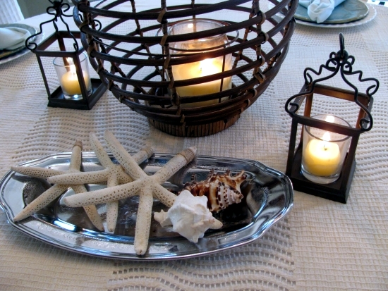 Bring home holiday atmosphere - table decoration ideas for the summer