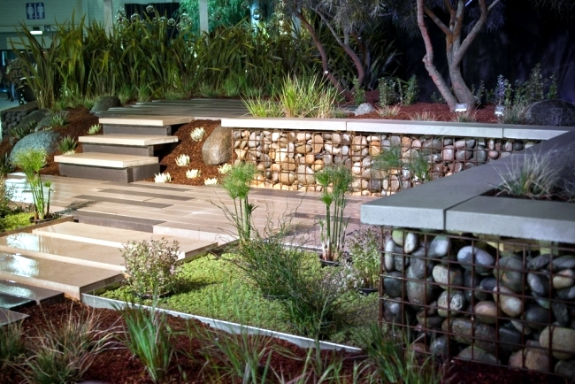 Fence Gabion Build Yourself   Fast And Cheap. Modern Garden Design