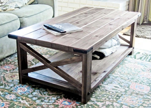 Build table itself - original design ideas for living room