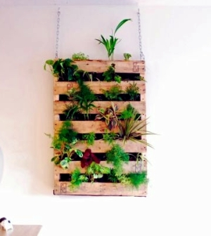 Build your own vertical garden - do it yourself projects ...