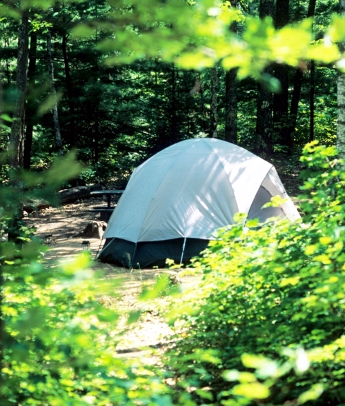 Camping Guide - An overview of the different types of tents