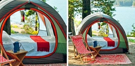 Camping holiday plan - camp bed, air bed or mattress?
