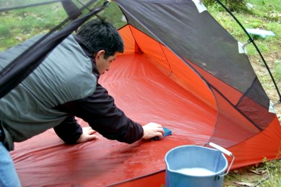Keep small parts in separate bags and tents. Before you pack wash accessories and let it dry completely. Mold can not only damage the tent ... : tent cleaning and repair - memphite.com