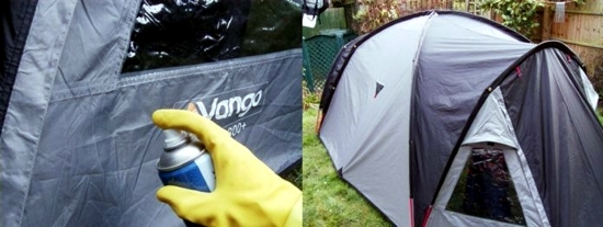 Camping Tent able to keep tips for cleaning and repair
