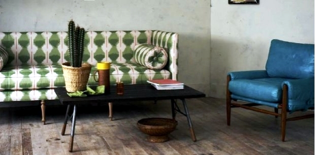Caramel and mint the new trend colors in interior design for 2013