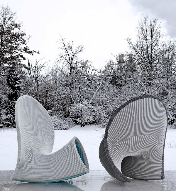 Chair Design by Fabio Novembre - аttraktive Outdoor Relax chairs