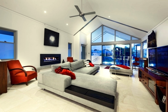 chatsworth the project is a two room apartment in perth australia and was designed by architecture and design studio cambuilds elegant apartment features