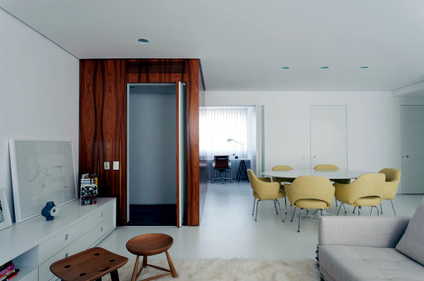 apartment design by leandro garcia with a minimalist interior design - Minimalist Apartment Design