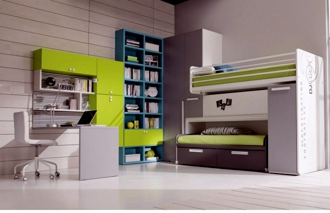 Children Bed Design - Choose the perfect model for the youth room