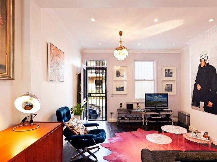 Classic but striking interior