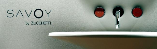 Classic meets modern: basin faucet Savoy by Zucchetti