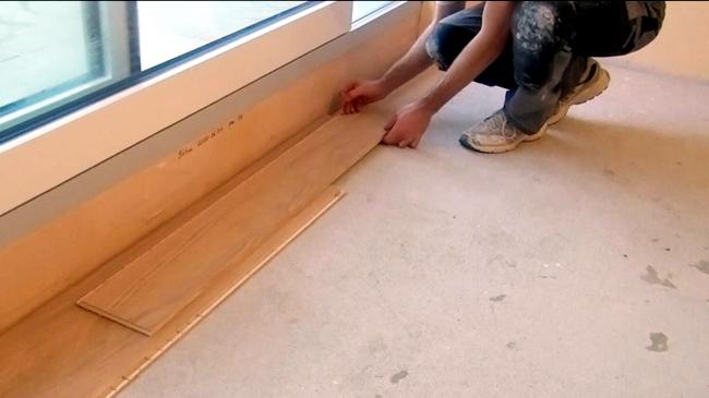 Flooring click system