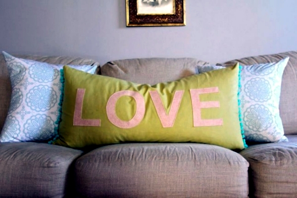 Colorful Decorative Pillows - Beautiful decorations and ideas for home sewing