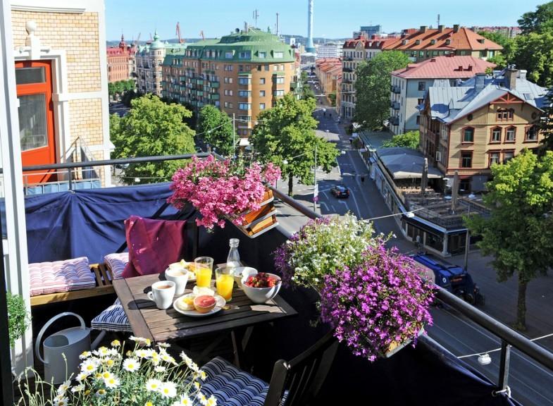 Compilation of balconies