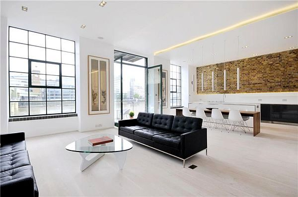 Contemporary apartment in London by Chiara Ferrari