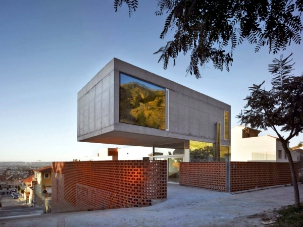 Contemporary Concrete House In Murcia Spain Xpiral Of